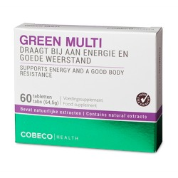 GREEN MULTI 60 TABS FLATPACK