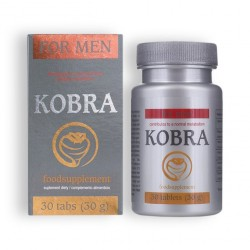 KOBRA STIMULATING CAPS FOR MEN 30 CAPS