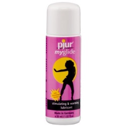 PJUR MYGLIDE STIMULATING AND WARMING LUBRICANT 30ML