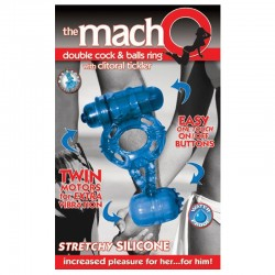 COCK RING THE MACHO BLUE