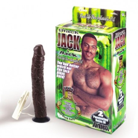 INFLATABLE DOLL BLACK JACK
