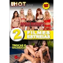 2 FILMES - ORGIA MADURA + TROCAS E BALDROCAS