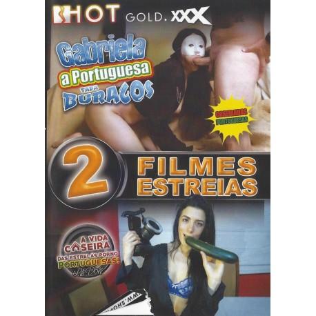 2 FILMES - GABRIELA A PORTUGUESA TAPA BURACOS+A VIDA CASEIRA DAS ESTRELAS PORNO PORTUGUESAS:LILI DOLL
