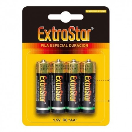 4 AA EXTRASTAR BATTERIES