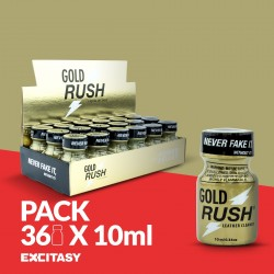 PACK WITH 36 GOLD RUSH 10ML