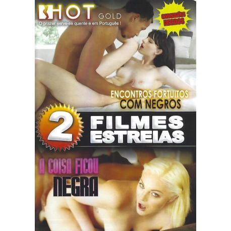 2 FILMES ENCONTROS FORTUITOS COM NEGROS + A COISA FICOU NEGRA