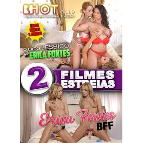 2 FILMES O LADO LÉSBICO DE ÉRICA FONTES + ÉRICA FONTES BFF
