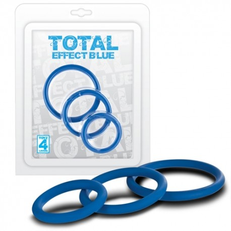TOTAL EFFECT BLUE COCK RING KIT