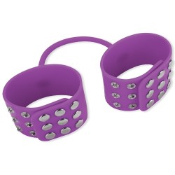 SILICONE CUFFS PURPLE
