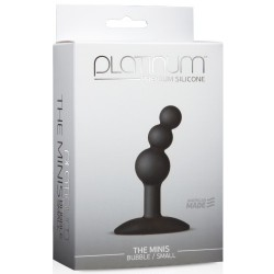 THE MINI'S BUBBLE SMALL PLATINIUM PLUG