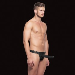 STRAP-ON OCO OUCH! HOLLOW CURVED PRETO
