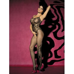 OBSESSIVE BODYSTOCKING F205 BLACK